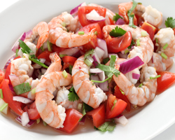 ingredientes de un ceviche