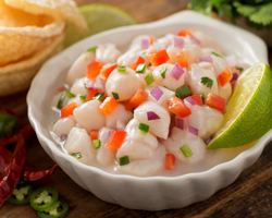 ingredientes para ceviche